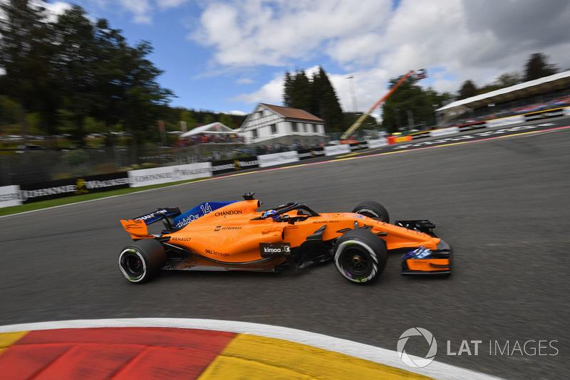 15. Fernando Alonso, McLaren MCL33