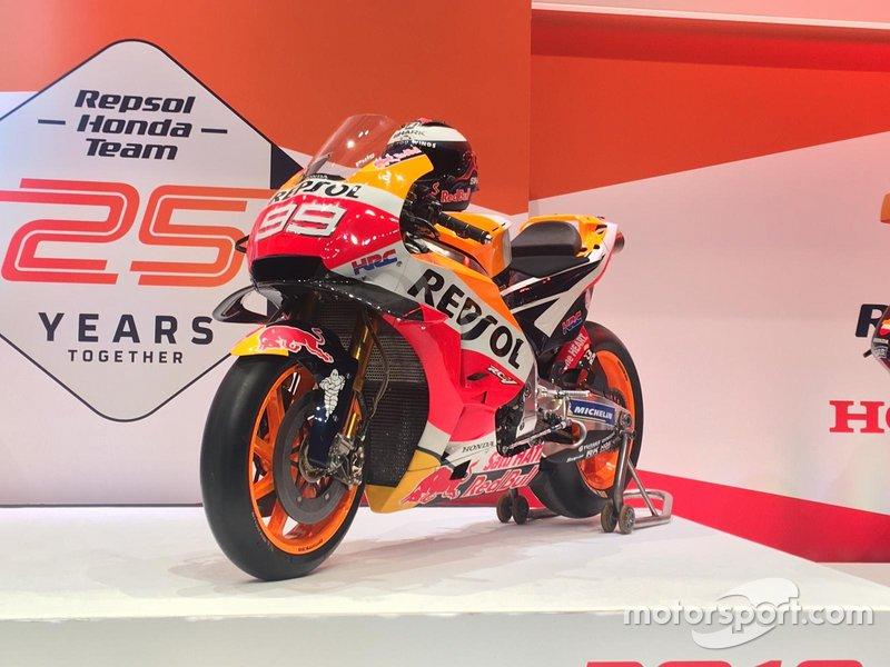 La moto di Jorge Lorenzo, Honda HRC