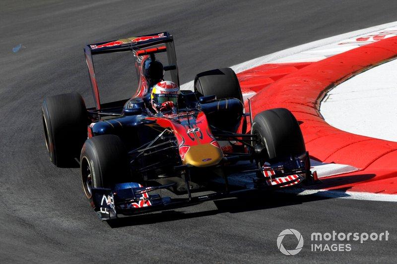 Sebastien Buemi, Toro Rosso STR5 Ferrari