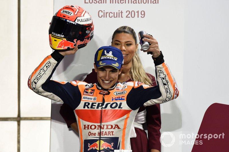 Подіум: друге місце Марк Маркес, Repsol Honda Team