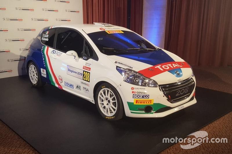 La Peugeot 208 di Tommaso Ciuffi e Nicolo Gonella