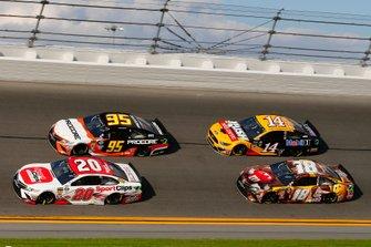 Erik Jones, Joe Gibbs Racing, Toyota Camry Sport Clips, Matt DiBenedetto, Leavine Family Racing, Toyota Camry Procore