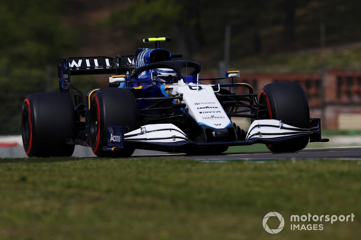 P14 Nicholas Latifi, Williams FW43B
