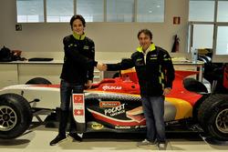 Ralph Boschung en Adrián Campos, Campos Racing