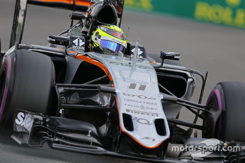 16: Sergio Perez: 122 GPs (85,31% dos disputados)