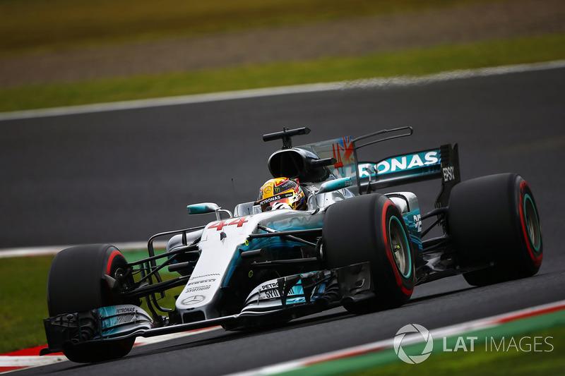 1: Lewis Hamilton, Mercedes AMG F1 W08