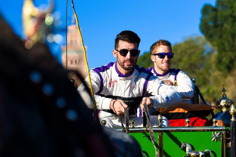 Jose Maria Lopez, DS Virgin Racing; Sam Bird, DS Virgin Racing