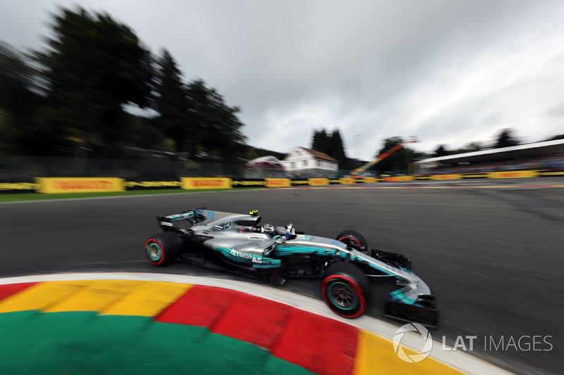 3: Valtteri Bottas, Mercedes-Benz F1 W08