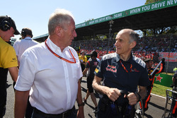 Dr Helmut Marko, Red-Bull-Motorsportberater, Franz Tost, Toro-Rosso-Teamchef