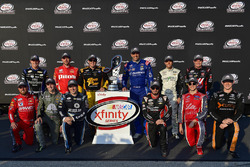 Daniel Hemric, Richard Childress Racing Chevrolet, Michael Annett, JR Motorsports Chevrolet, Brendan Gaughan, Richard Childress Racing Chevrolet, Elliott Sadler, JR Motorsports Chevrolet, Blake Koch, Kaulig Racing Chevrolet, Cole Custer, Stewart-Haas Racin