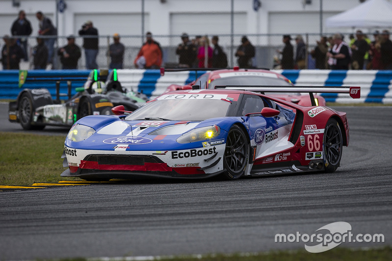 #66 Ford Performance Chip Ganassi Racing Ford GT: Joey Hand, Dirk Müller, Sébastien Bourdais