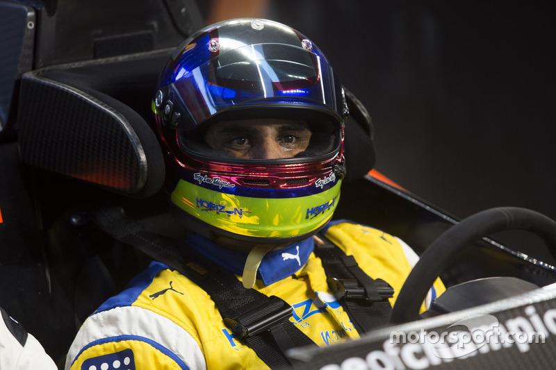 Juan Pablo Montoya, en pits