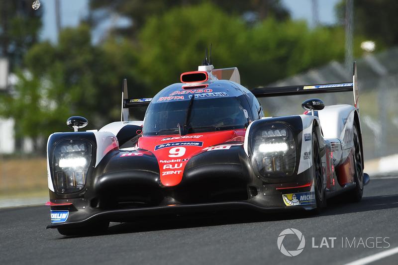 LMP1: #9 Toyota Gazoo Racing, Toyota TS050 Hybrid