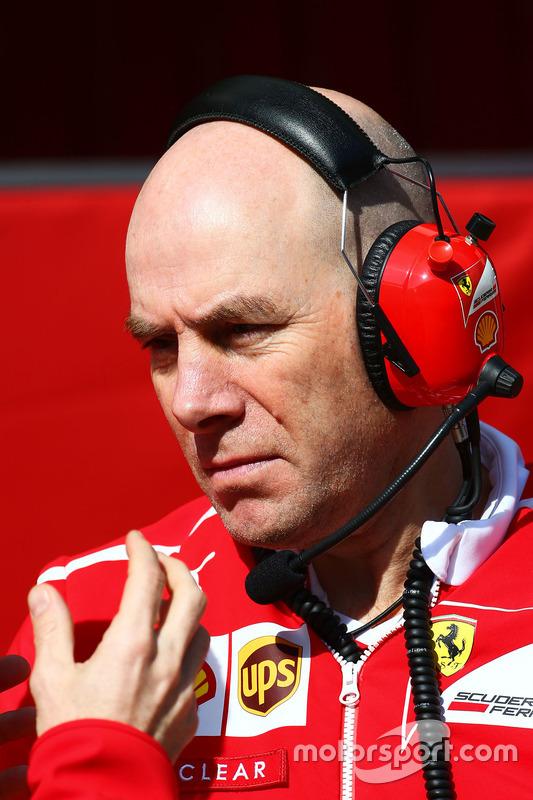 Jock Clear, Ferrari
