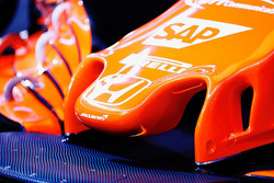 McLaren MCL32 detalle de la nariz