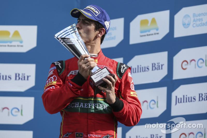 Podium: 3. Lucas di Grassi, ABT Schaeffler Audi Sport