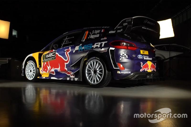 Ford Fiesta WRC 2017 livery