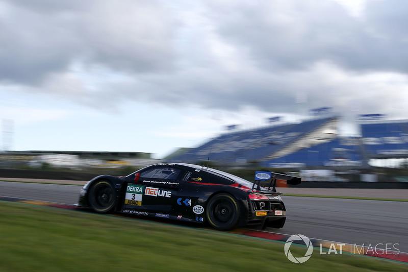 #3 Aust Motorsport, Audi R8 LMS: Kelvin van der Linde, Sheldon van der Linde