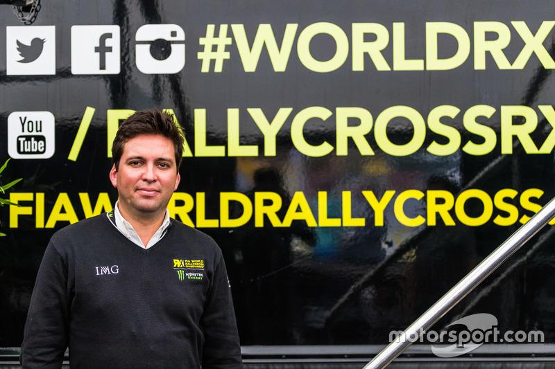 James Taylor, Vice President, Motorsport, IMG