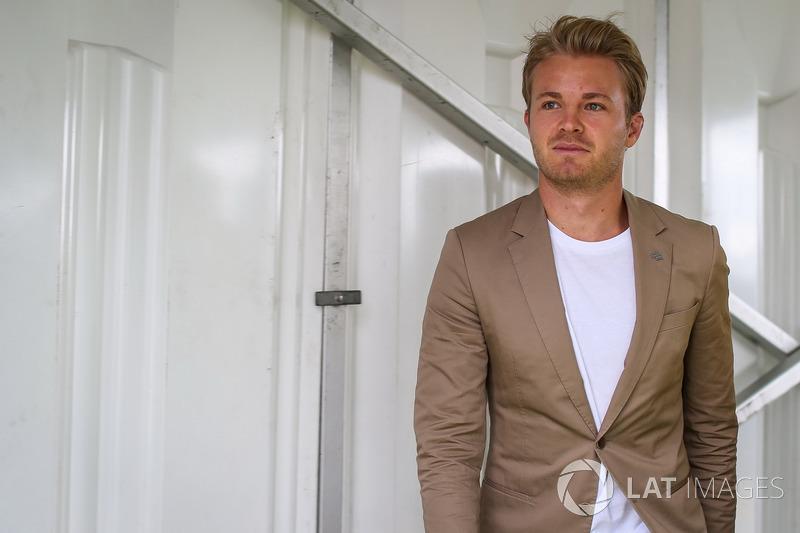 Além do atual campeão da F1, Nico Rosberg.