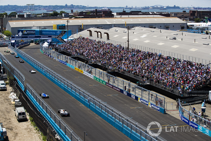Renn-Action beim ePrix New York