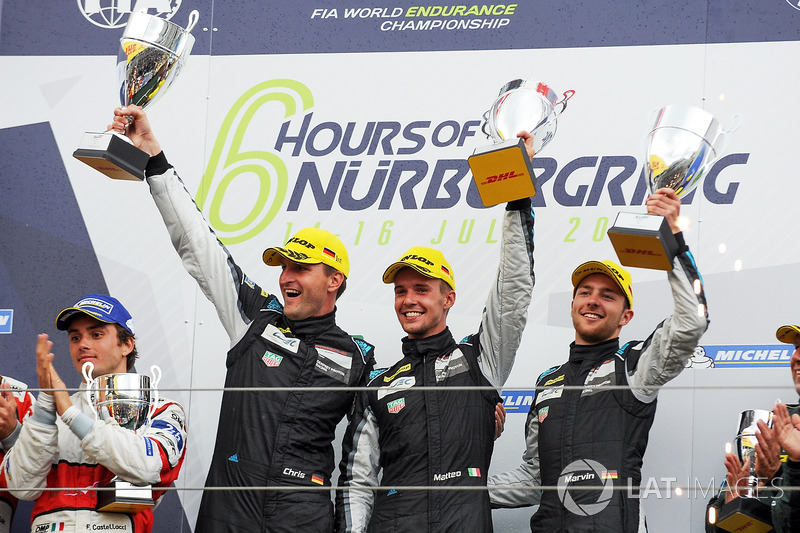 1. GTE-Am: Christian Ried, Matteo Cairoli, Marvin Dienst, Dempsey Proton Competition