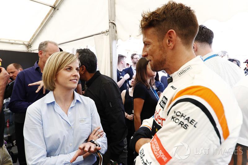Сьюзі Вольфф, Channel 4 F1, Дженсон Баттон, McLaren