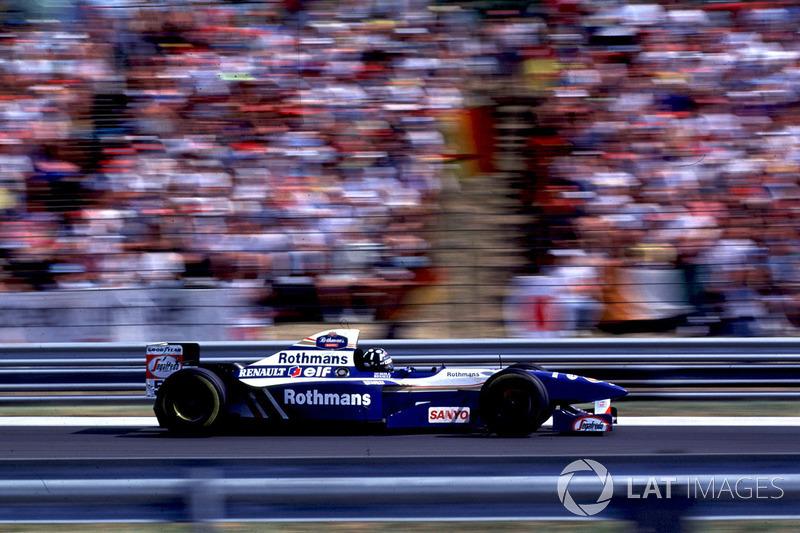 Damon Hill, Williams FW17B