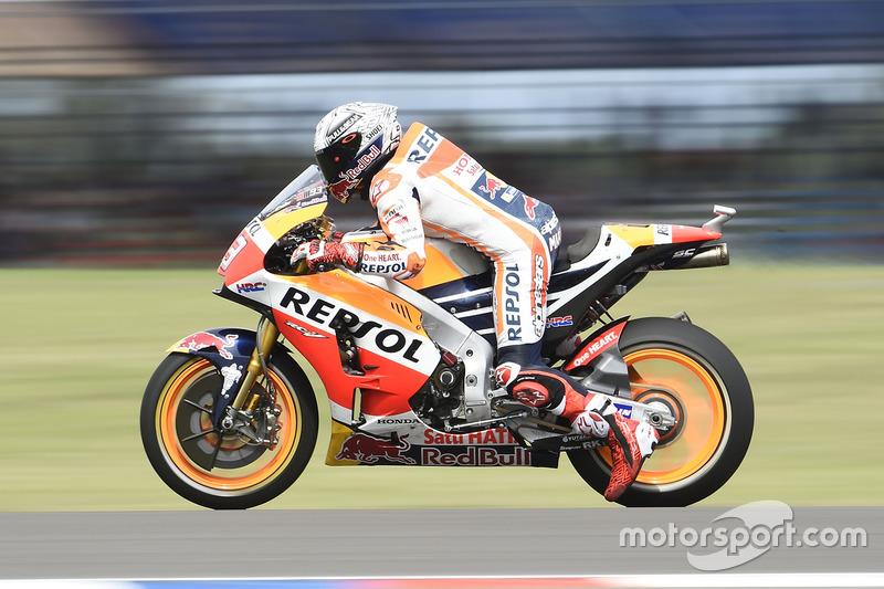 Übungsstart: Marc Marquez, Repsol Honda Team