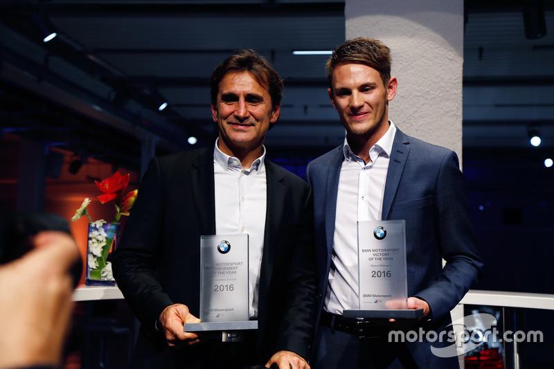 Alex Zanardi y Marco Wittmann, BMW Team RMG