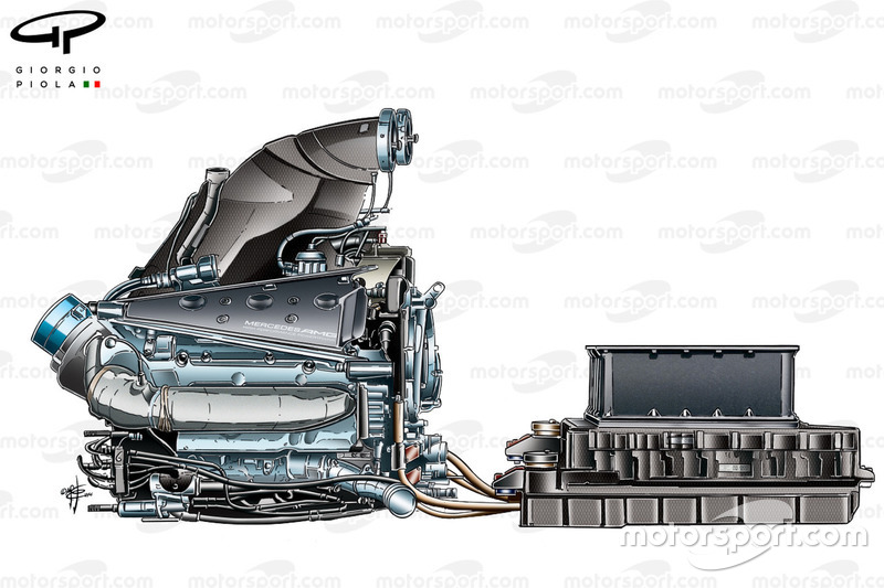 Antriebseinheit: Mercedes PU106