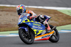 Dani Pedrosa on the RS125R he won the 2003 125cc World Championship with