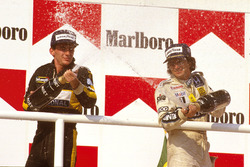 1. Nelson Piquet, Williams; 2. Ayrton Senna, Team Lotus