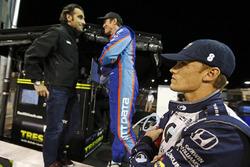 Даріо Франкітті, Скотт Діксон,, Chip Ganassi Racing Honda, та Макс Чілтон, Chip Ganassi Racing Honda