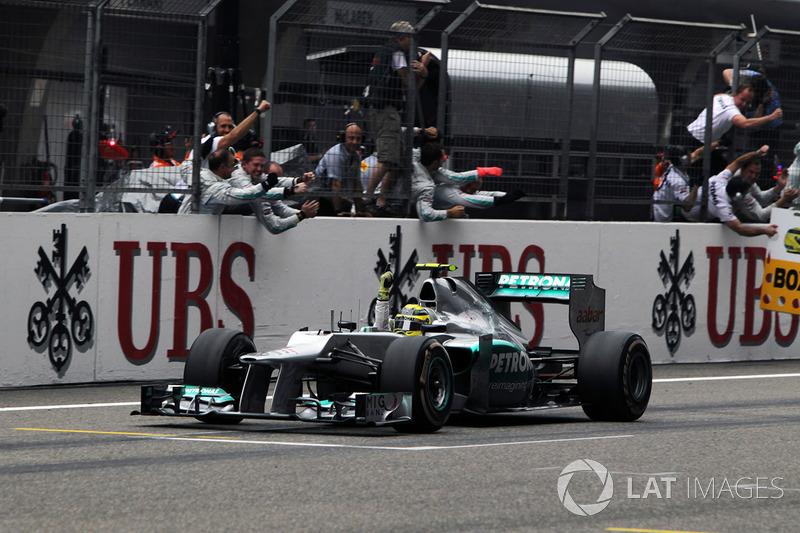 2012: Mercedes F1 W03 (одна победа, 5-е место в КК)
