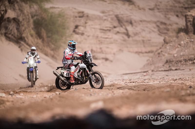 #49 Hero MotoSports Team Rally: Сі-Ес Сантош