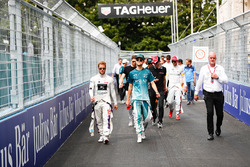 Сэм Бёрд, DS Virgin Racing, и Том Бломквист, Andretti Formula E Team