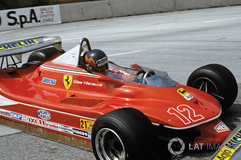Gilles Villeneuve led the first half of the '78 GP of Long Beach but collided with a backmarker. On his return in '79 he made no mistakes, taking pole and leading every lap in the Ferrari 312T4.