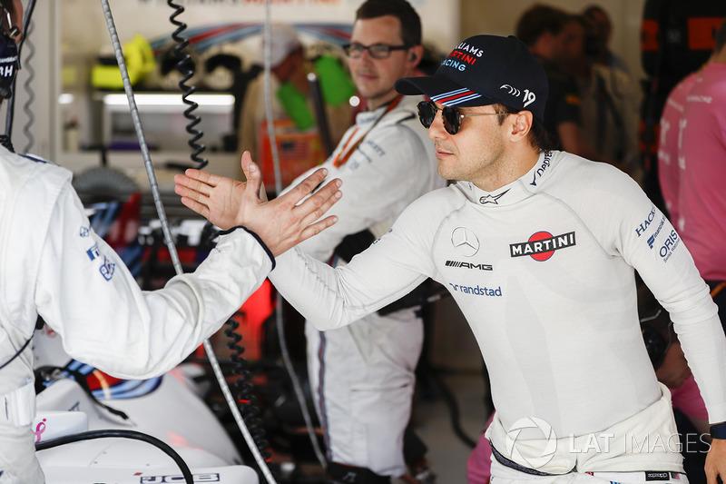 Felipe Massa foi o nono colocado.