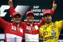 Рубенс Баррікелло, Ferrari, Міхаель Шумахер, Ferrari