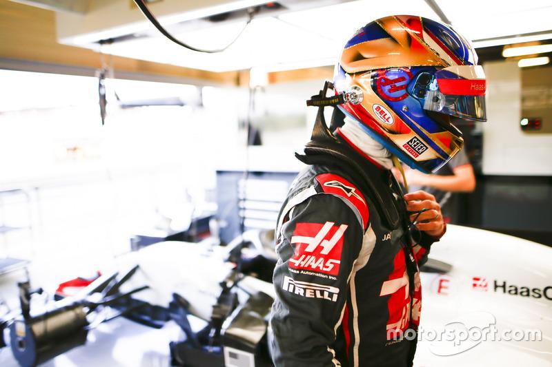 Romain Grosjean - Haas F1 Team: 6