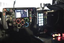 Porsche Team simulator steering wheel