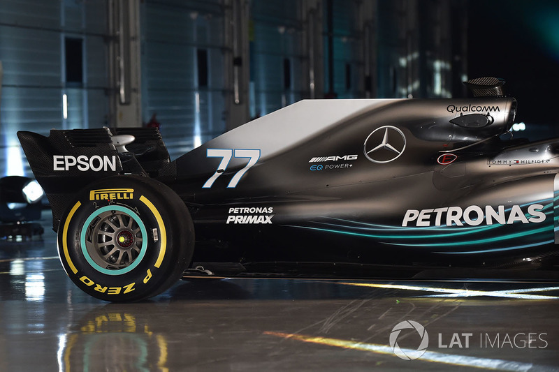 Mercedes AMG F1 W09, dettaglio posteriore