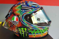 Helmet of Valentino Rossi, Yamaha Factory Racing