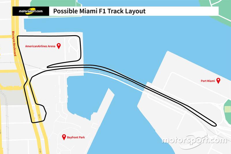 Proyecto diseño de la pista del Miami ePrix