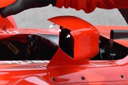 Ferrari SF71H aynalar