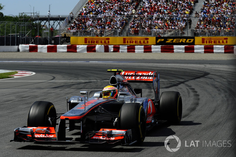 2012: Льюис Хэмилтон, McLaren MP4-27 Mercedes