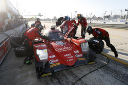 #99 JDC/Miller Motorsports ORECA 07, P: Stephen Simpson, Mikhail Goikhberg, Chris Miller, pit stop