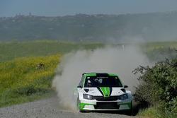 Alessandro Taddei, Andrea Gaspari, Skoda Fabia R5, Car Racing