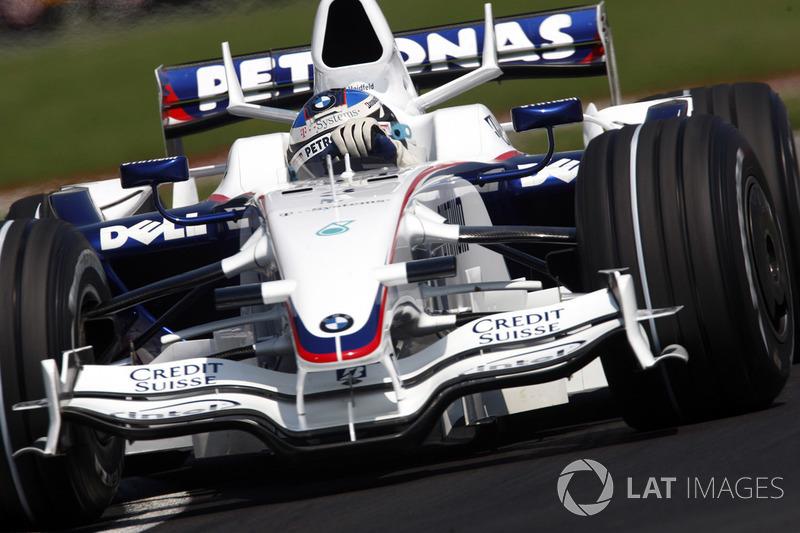 15: Nick Heidfeld: 135 GPs(73,77% dos disputados)